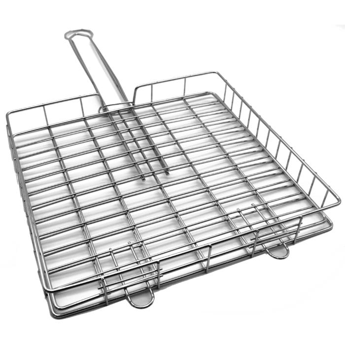 Mini Deep Braai Grid with Long Handle